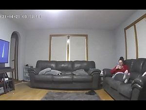 Insane Nanny Got Caught Masturbating on Nanny Web cam