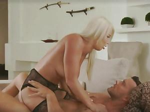 Busty Blonde MILF Erotic Sex