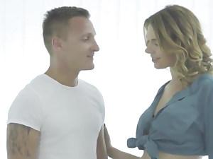 lesbian stepmom lessons, Matt Ice and Antonia Sainz