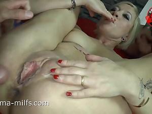 Buttfuck Cum & Creampie Hook-up For Sperma-Milf Klara  -  10521