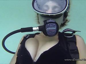Underwater Scuba Masturbation