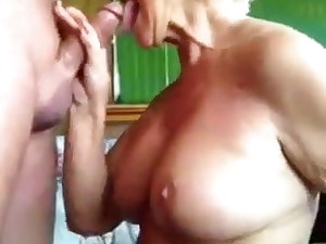 Granny, shut up and swallow