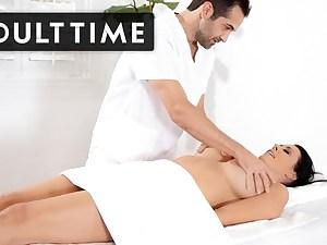 ADULT TIME - Reagan Foxx Luvs Her Massages HARD!