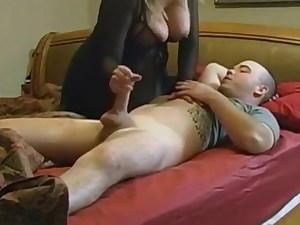 Hot mom smashing son